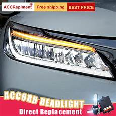 2016 Honda Accord Light Assembly 2pcs Led Headlights For Honda Accord 2016 Led Car Lights