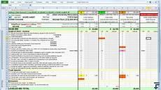 Proposal Comparison Spreadsheet Template 14fathoms Scope Sheet Leveling Comparison Template