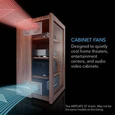 airplate s1 home theater and av cabinet cooling fan