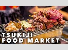 A Street Food PARADISE   Tsukiji Market, TOKYO   YouTube