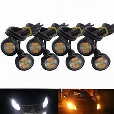 Eagle Eye Led Lights Car Daytime Reverse Signal Bulbs White 12v 4w Led Light