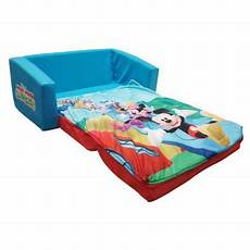 mickey mouse clubhouse flip open sofa with slumber by spin