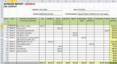 How To Create Expenses Report In Excel Expense Report Template Excel Sanjonmotel