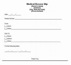 Free Printable Dr Excuses 9 Best Free Doctors Note Templates For Work Every Last