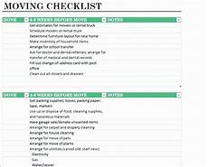 Relocation Checklist Excel 12 Office Move Checklist Template Excel Excel Templates
