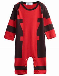 deadpool baby clothes n baby boy deadpool costume romper infant babygrow