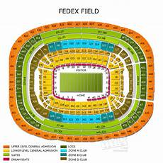 Fedex Seating Chart Fedexfield Tickets Fedexfield Seating Chart Vivid Seats