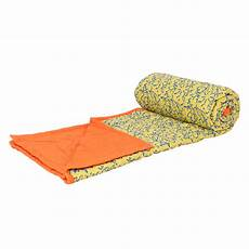 indha craft block printed bed quilt 100 soft