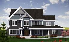 2 story traditional with craftsman touches 89970ah