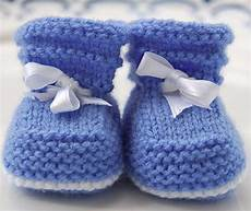 stricken babyschuhe easy baby booties pdf knitting pattern 1 3 by