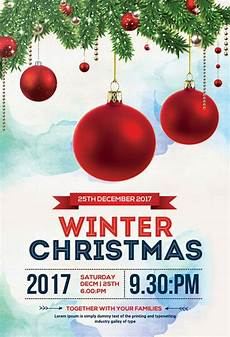 Free Christmas Flyer Psd 40 Premium Amp Free Christmas Flyer Templates In Psd For