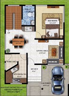 40 x 50 house plans east facing