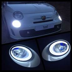 Abarth 500 Lights Led Drl Lamps For Abarth Amp Fiat 500 New Generation