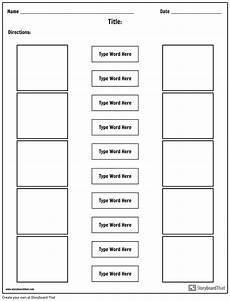 Free Worksheet Templates Make Matching Worksheets Matching Worksheet Templates