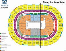 Seating Chart Of Ppg Paints Arena Disney On Ice Presents Reach For The Stars Ppg Paints Arena