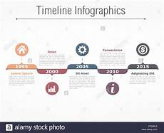 Horizontal Timeline Template Horizontal Timeline Infographics Design Template Stock