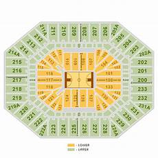 Dean E Smith Center Seating Chart Rows Dean E Smith Center Chapel Hill Tickets Schedule
