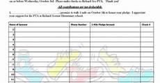 Walk A Thon Pledge Sheet Walk A Thon Pledge Form 2012 Jpg 800 215 1035 School