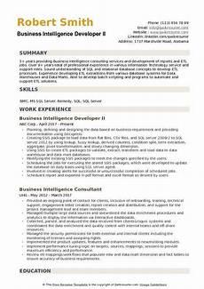 Business Objects Resume Samples Business Intelligence Developer Resume Samples Qwikresume