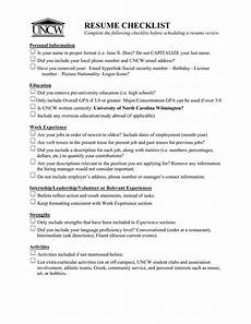 Name Your Resumes Resume Review Checklist Best Resume Examples