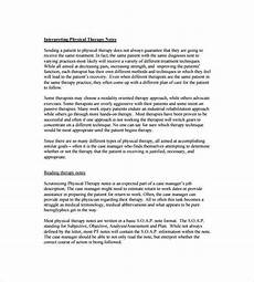 Soap Notes Physical Therapy Soap Note Template 9 Free Word Pdf Format Download