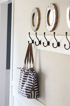 wall hooks for coats how to build a wall mounted coat rack erin spain