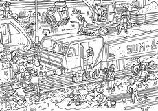 Ausmalbilder Zum Ausdrucken Zug Ausmalbild Oli Auf Der Baustelle Olis Bahnwelt
