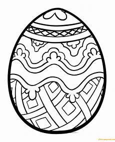 easter eggs symbolizing christianity coloring page free