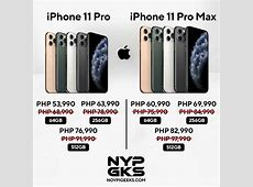 iPhone 11 Pro, Pro 11 Max price drop in the Philippines