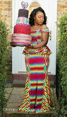 Ankara Kente Designs 77 Latest Kente Designs For Ghanaian Wedding 2019