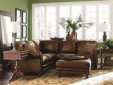 Bassett Furniture Living Room Sofa 3d Image by Bassett Hamilton Traditional L Shaped Leather Sectional