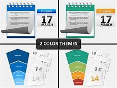 Calendar Slides Notebook And Calendar Powerpoint Sketchbubble