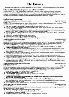 Construction Executive Resume Samples Business Development Executive Resume Sample Kickresume