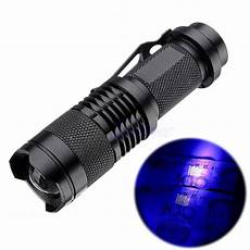 Power Beam Torch Light Zoomable Led Uv Flashlight Torch Light 395nm Ultra Violet