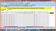 Salary Excel Sheet Format 8 Salary Structure Format In Excel Free Download Salary