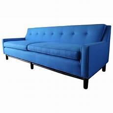 Blue Mid Century Modern Sofa 3d Image by Blue Mid Century Modern Sofa Chairish