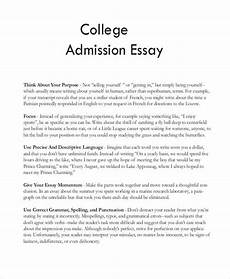 Samples Of College Essays College Essay Format College Application Essay College