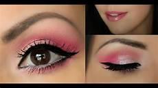 s day makeup pink tutorial