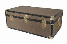 Mossman Original King Trunk Storage Box Chest Steamer by The Signature Mossman Steamer Now Available In The