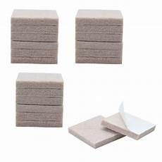 20pcs felt furniture pads square 1 1 8 quot floor protector