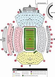 Nebraska Cornhuskers Memorial Stadium Seating Chart Online Ticket Office Seating Charts