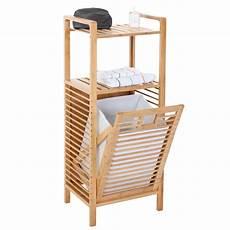scaffale bagno serie legno bambu narita arredo bagno scaffale a 2 ripiani