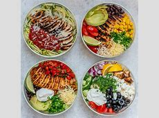 Grilled Chicken Meal Prep Bowls 4 Creative Ways for Clean