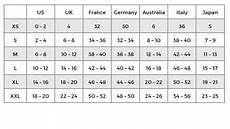 French Size Chart Sizing Chart Islamic Clothing Verona Collection