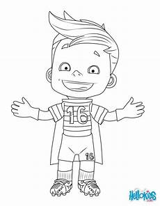 mascot 2016 coloring pages hellokids