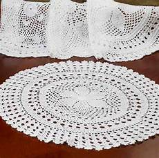 16 quot white crocheted doily crochet and lace doilies