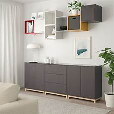 eket cabinet combination with legs multicolour 1 ikea