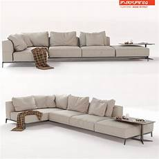 Tiny Sectional Sofa 3d Image by 3d Flexform Sectional Sofa Ettore Cgtrader