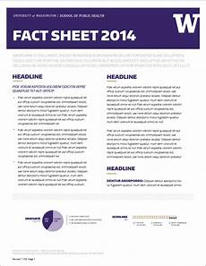 How To Make A Fact Sheet On Word Fact Sheet Templates Word Excel Samples