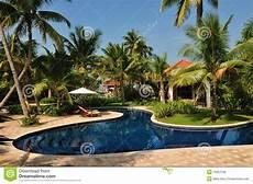 Tropical Island Paradise Tropical Island Paradise Resort Royalty Free Stock Photos